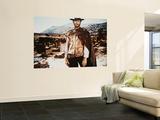 Clint Eastwood Veggmaleri