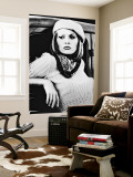 Faye Dunaway Wall Mural