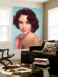 Elizabeth Taylor Wall Mural
