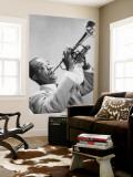 Louis Armstrong Nástěnný výjev