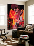 Carlos Santana Reproduction murale géante