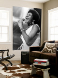 Aretha Franklin Wall Mural