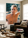 Paul Newman Wall Mural
