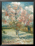 Peach Tree in Bloom at Arles, c.1888 Prints by Vincent van Gogh
