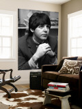 Paul McCartney Wall Mural
