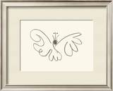 The Butterfly Art by Pablo Picasso