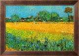 View of Arles with Irises Prints by Vincent van Gogh