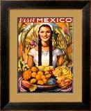 Visit Mexico, 1939 Prints