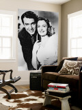 James Stewart & Donna Reed Wall Mural