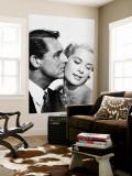 Cary Grant & Grace Kelly Nástěnný výjev