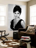 Sophia Loren Veggmaleri