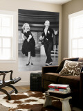Top Hat Wall Mural