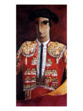 Bull Fighter Giclee Print by Didier Lourenco