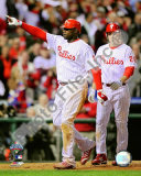 Ryan Howard &amp; Chase Utley Game 4 of the 2008 MLB World Series Photo