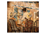 High Tea Giclee Print by Trish Biddle