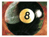Behind the 8 Ball Giclee Print by Tandi Venter