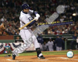 Evan Longoria Most Postseason Home Runs by a Rookie 2008 ALCS Game 4 Photo