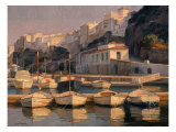 Mahon Port Art by Kiku Poch