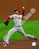 Cole Hamels 2008 Game 5 NLCS Photo