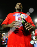 Ryan Howard 2008 Game 5 NLCS Celebration Photo