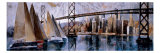 Sailing in San Francisco Giclee Print by Marti Bofarull