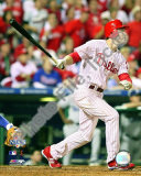 Chase Utley 2008 NLCS Game 1 Home Run Photo