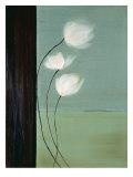 Aqua Breeze I Posters by Karen Lorena Parker