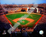Opening Day of Shea Stadium April 17, 1964 With Overlay Photo