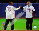 Dwight Gooden & Darryl Strawberry Final Game at Shea Stadium 2008 Photo
