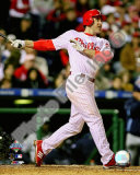 Chase Utley Game 3 of the 2008 MLB World Series Photo
