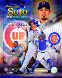 Geovanny Soto 2008 National League Rookie Of The Year Photo