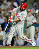 Shane Victorino 2008 NLCS Game 4 Home Run Photo