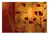 Scarlet Silhouette Reproduction procédé giclée par Edward Aparicio