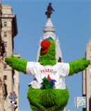 The Philly Phanatic 2008 World Series Parade Photo