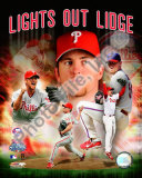 Brad Lidge &quot;Lights Out Lidge&quot; Photo