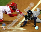 Carlos Ruiz Game 5 of the 2008 World Series Photo