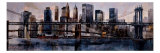 Brooklyn and Manhattan Bridges Giclee Print by Marti Bofarull