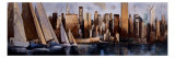 Sailing in Manhattan Giclee Print by Marti Bofarull
