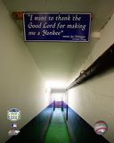 Yankee Stadium dugout Tunnel Final Game September 21, 2008 Photo