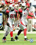 Anquan Boldin & Larry Fitzgerald Photo