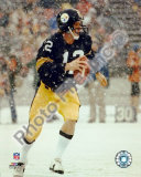 Terry Bradshaw  / In snow Photo
