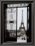 Eiffel Tower from the Trocadero Posters by Gall