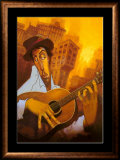 El Guitarrista Prints by Justin Bua