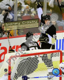 Sidney Crosby Celebrates his 100th Career NHL Goal Photo