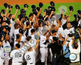 The New York Yankees Salute the Crowd after the Final Game at Yankee Stadium 2008 Photo