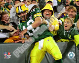 Aaron Rodgers 2008 Celebration Photo