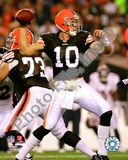Cleveland Browns Brady Quinn 2008 Action Photo