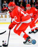 Pavel Datsyuk 2008-09 Home Action Photo
