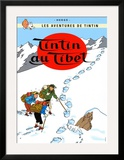 Tintin au Tibet, c.1960 Prints by Herg&#233; (Georges R&#233;mi) 