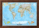 World Political Map Prints